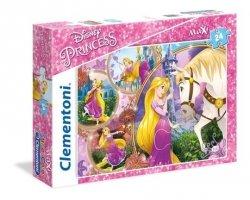 Puzzle Maxi Roszpunka Księżniczka Disneya Princess 24 el. Clementoni 23702