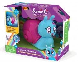 Luminki Świecący Przyjaciele Tęczowy Ślimaczek Projektor ze Światłem i Dźwiękiem Epee