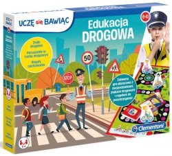 Gra planszowa Edukacja drogowa Uczę się bawiąc Clementoni 50024