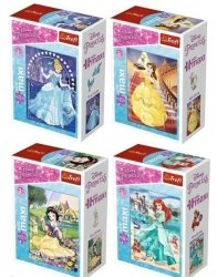 Puzzle W świecie księżniczek 20 el. Trefl 56004