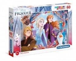 Puzzle Frozen 2 Kraina Lodu 2 60 el. Clemetoni 26058