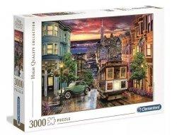 Puzzle San Francisco 3000 el. Clementoni 33547