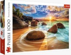Puzzle Plaża Samudra, Indie 1000 el. Trefl 10461