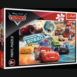 Puzzle Gala Zwycięzców Cars 3 Auta 3 260 el. Trefl 13239