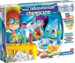 Zestaw naukowy Moje Laboratorium Chemiczne Clementoni 60250