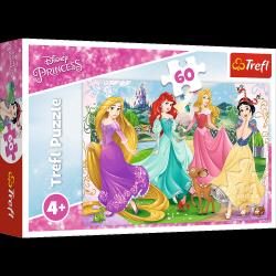 Puzzle Ulubione Księżniczki 60 el. Disney Princess Trefl 17347