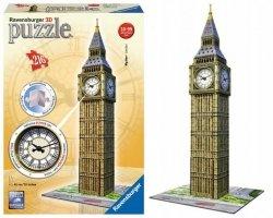Puzzle przestrzenne 3D Big Ben z zegarem 216 el. Ravensburger 125869