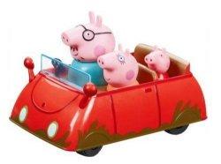 Samochód rodzinny Świnki Peppy + 3 figurki TM Toys 05130