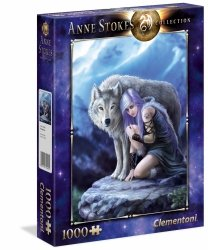 Puzzle Obrońca Kolekcja Anne Stokes 1000 el. Clementoni 39465