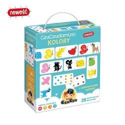 Gra Logiczna Domino Kolory CzuCzu 49160