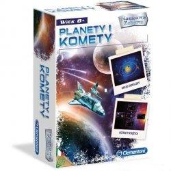 Gra edukacyjna Nauka Planety i Komety Clementoni 60053