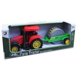 Traktor z Przyczepą i Dźwiękiem 27 cm