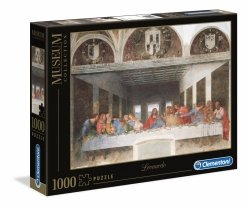 Puzzle Ostatnia Wieczerza Leonardo da Vinci 1000 el. Clementoni 31447