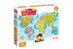 CzuCzu Puzzle Mapa Świata 168 el. 33626