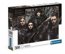 Puzzle Gra o Tron Game of Thrones 500 el. Clementoni 35091