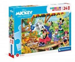 Puzzle Maxi Myszka Mickey i Przyjaciele 24 el. Clementoni 24218