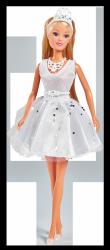 Lalka Steffi w Sukience Ślubnej z Kryształkami Swarovskiego Simba 5733465
