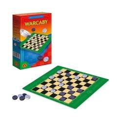 Gra rodzinna Warcaby mini Alexander 0392