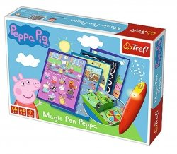 Gra Magic Pen Świnka Peppa Trefl 01603