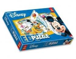 Gra EduPuzzle Myszka Miki Trefl 00377