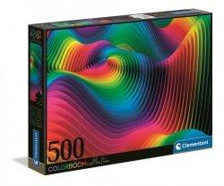 Puzzle Kolorowe Fale Color Boom 500 el. Clementoni 35093