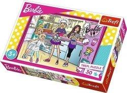 Puzzle Barbie Wspólne Gotowanie 30 el. Trefl 18237