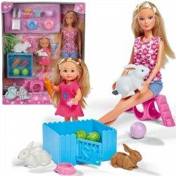Lalka Steffi i Evi ze Zwierzątkami Simba 5732156