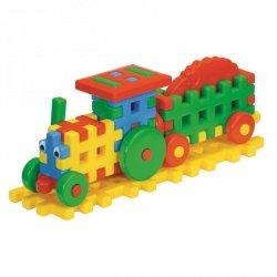 Klocki Konstrukcyjne Traktor Farmera 25 el.