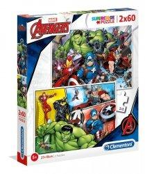 Puzzle The Avengers 2x60 el. Clementoni 21605