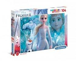 Puzzle Frozen 2 Kraina Lodu 2 104 el. Clementoni 27127