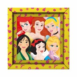 Puzzle z Ramką Księżniczki Disneya 60 el. Clementoni 38805