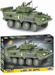 Klocki Czołg Small Army Lav III APC Cobi