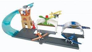 Lotnisko w Propwash Junction Zestaw Samoloty Mattel Y0995