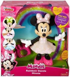 Tęczowa Myszka Minnie Minnie Fisher Price CJG77