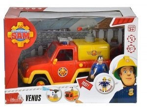 Venus Strażak Sam Pojazd z figurką Simba 9257656