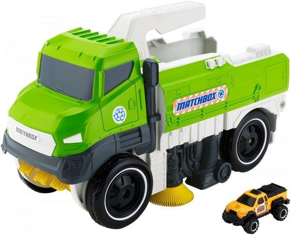 zielona ciężarówka Dickie
