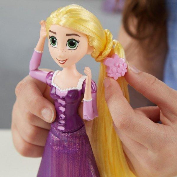 księżniczka roszpunka z baśni włosy do czesania