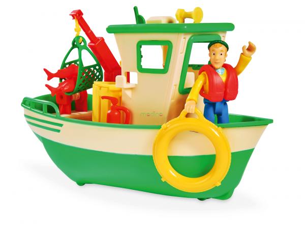 łódka rybacka strażak sam
