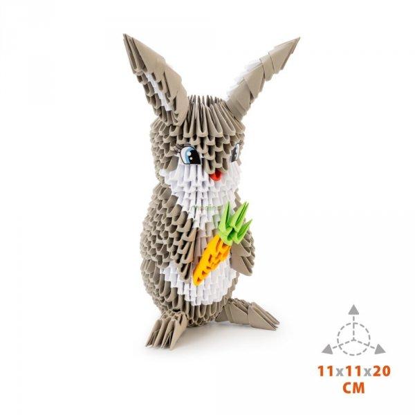 Origami 3D Królik