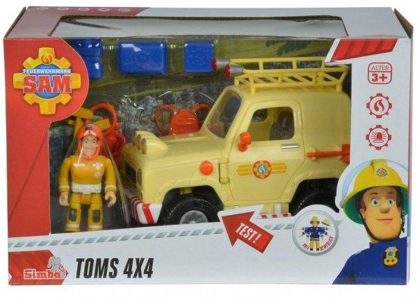 Strażak Sam Jeep ratunkowy auto terenowe zabawki