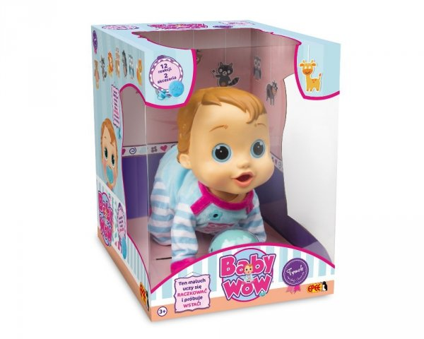 tymek lalka interaktywna chłopiec