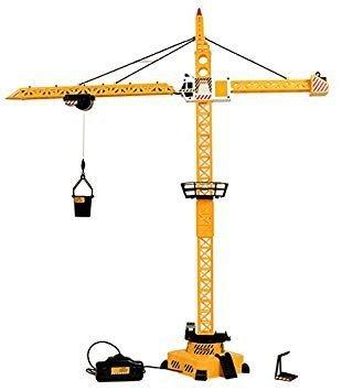 Dźwig zabawka budowlana na kablu madej