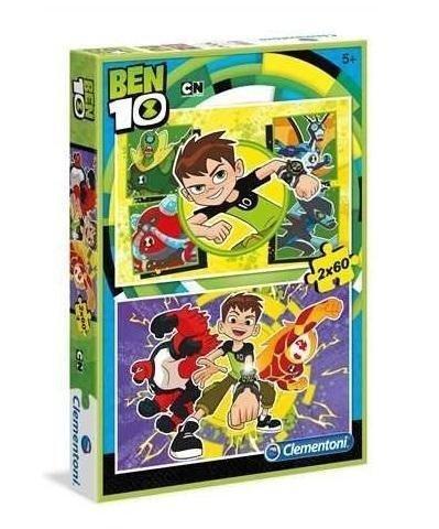 Puzzle 4w1 Ben 10 2x20/2x60 el. Clementoni 07616