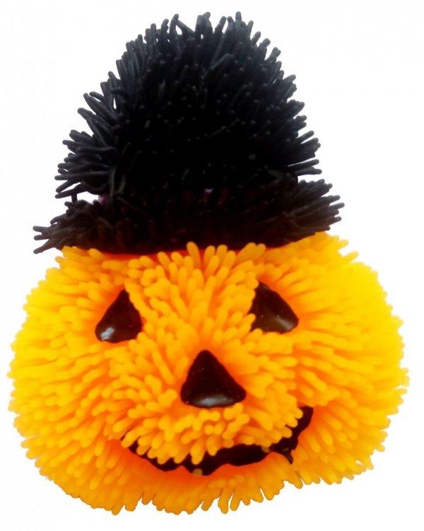 Dynia miękka świecąca zabawka gniotek Halloween