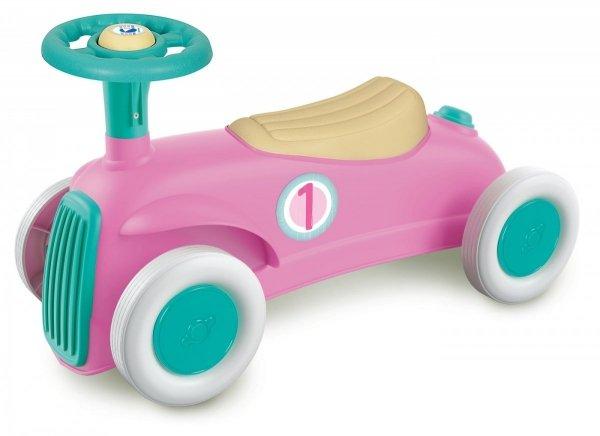 Jeździk Samochodzik Vintage Pink Różowy Clementoni 17456