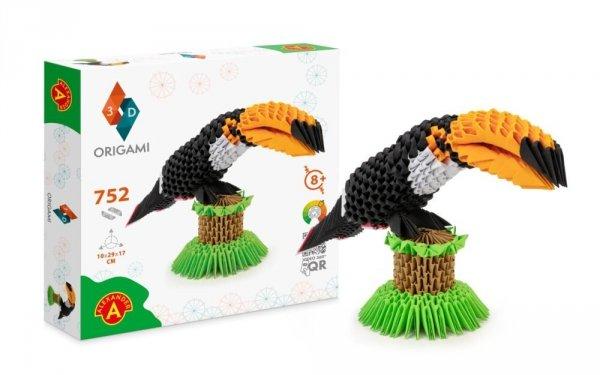 Origami 3D Tukan Alexander 2558