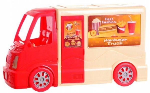 Auto Food Truck Duży Kamper Hamburger