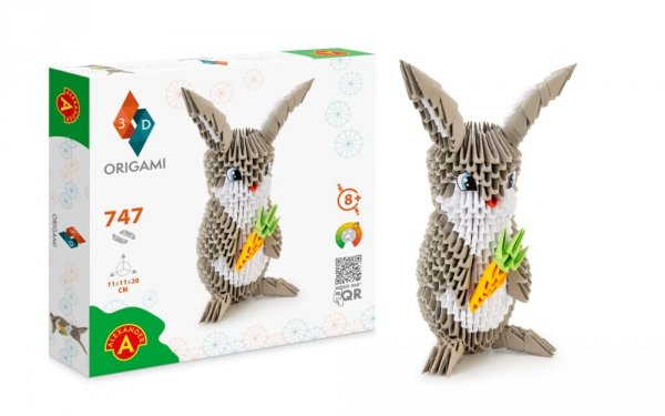 Origami 3D Królik Alexander 2557