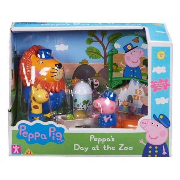 Świnka Peppa Dzień w Zoo