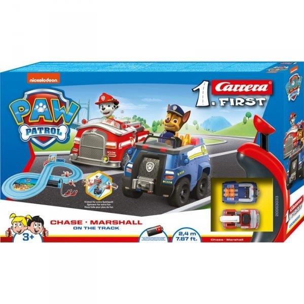 Carrera 1 First Tor Wyścigowy Paw Patrol On the Track Psi Patrol Nintendo 62033